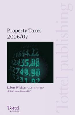 Property Taxes: 2006-2007 by Robert W. Maas