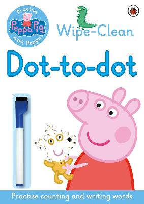 Peppa: Wipe-clean Dot-to-Dot book