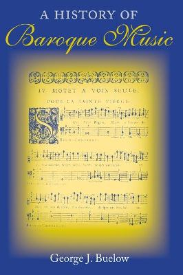 History of Baroque Music book