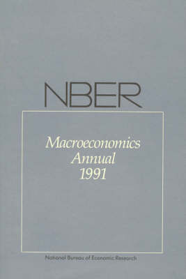 NBER Macroeconomics Annual by Olivier Blanchard