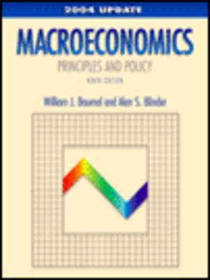Macroeconomics: Principles and Policy by Alan S. Blinder
