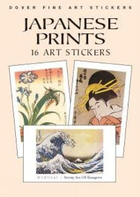 Japanese Prints: 16 Art Stickers book