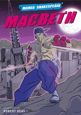 Manga Shakespeare Macbeth book