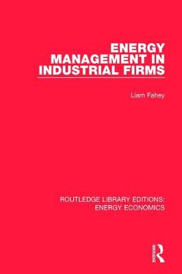 Energy Management in Industrial Firms by Liam Fahey