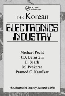 The Korean Electronics Industry by Michael Pecht