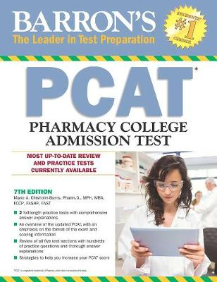 Barron's PCAT, 7th Edition by Marie A. Chisholm-Burns