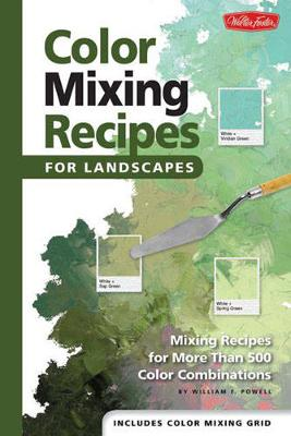 Color Mixing Recipes for Landscapes by William F Powell