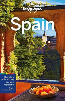 Lonely Planet Spain book