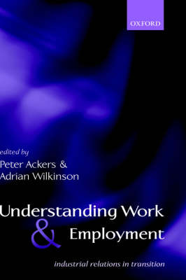 Understanding Work and Employment book