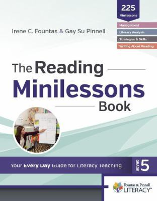 The Reading Minilessons Book, Grade 5 book