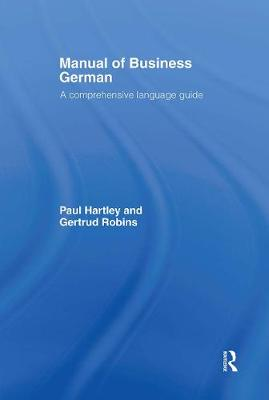 Manual of Business German book