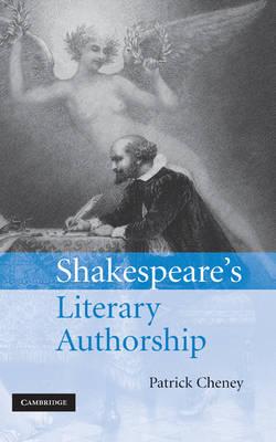 Shakespeare's Literary Authorship book