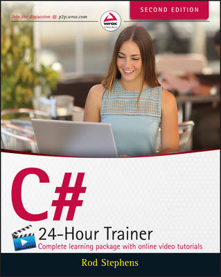C# 24-Hour Trainer by Rod Stephens