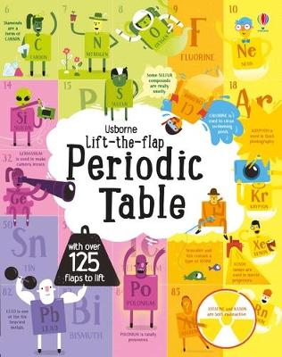 Lift-The-Flap Periodic Table by Alice James