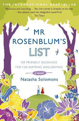 Mr Rosenblum's List: or Friendly Guidance for the Aspiring Englishman by Natasha Solomons