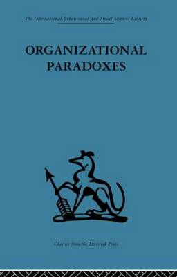 Organizational Paradoxes by Manfred F. R. Kets de Vries