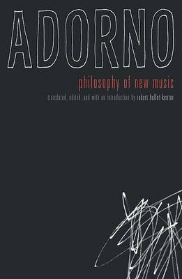 Philosophy of New Music book
