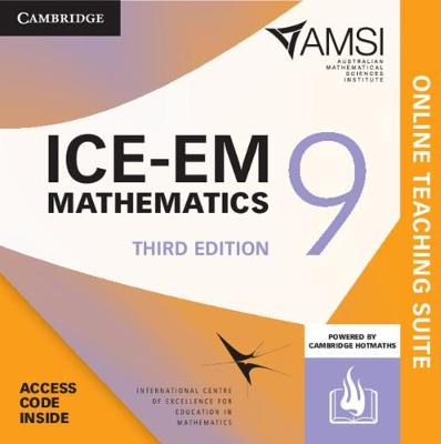 ICE-EM Mathematics Year 9 Online Teaching Suite by Peter Brown
