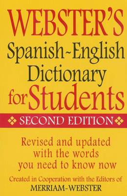 Web Spanish-English Dict for S by Merriam-Webster