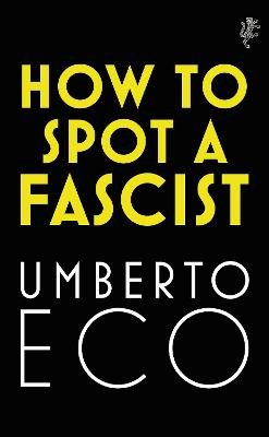 How to Spot a Fascist book
