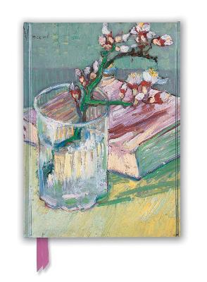 Vincent van Gogh: Flowering Almond Branch (Foiled Journal) by Flame Tree Studio