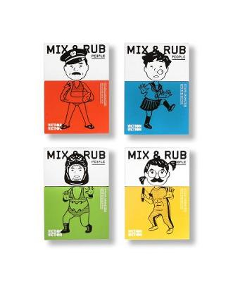 Mix & Rub: People: Styling characters with endless fun by Viction-Viction