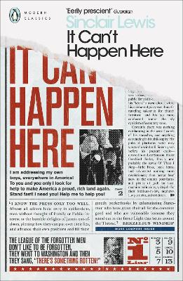 It Can't Happen Here book