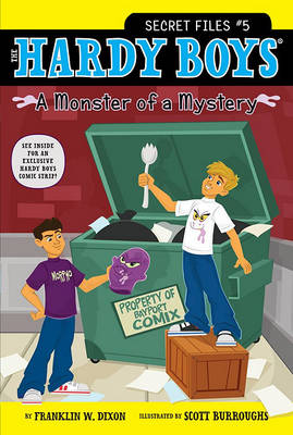 A Monster of a Mystery by Franklin W. Dixon