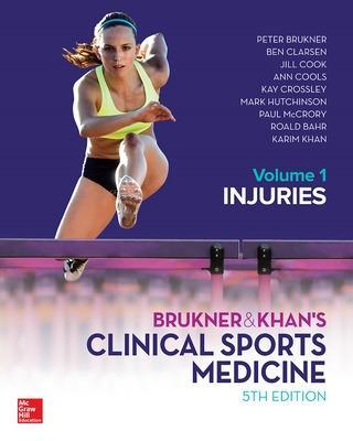 BRUKNER & KHANS CLINICAL SPORTS MEDICINE INJURIES  VOL 1 by Peter Brukner