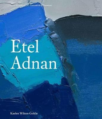 Etel Adnan book