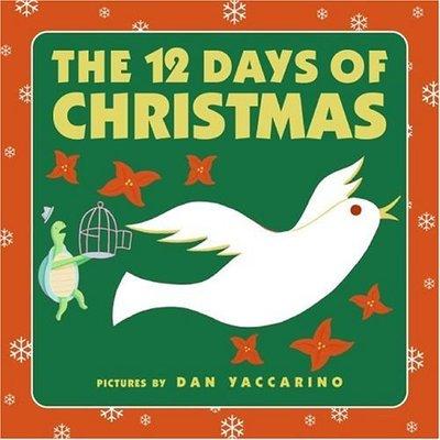 12 Days of Christmas Board Boo by Dan Yaccarino