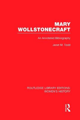 Mary Wollstonecraft book