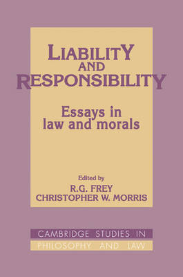 Liability and Responsibility book