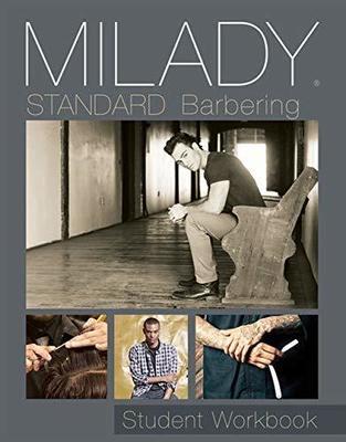Student Workbook for Milady Standard Barbering by Milady