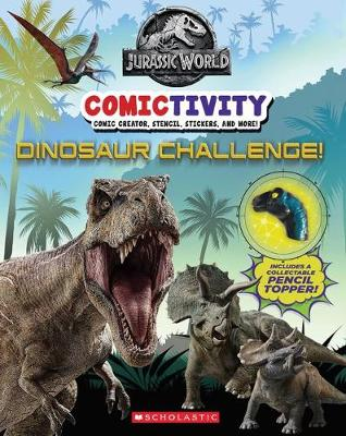 Jurassic World Comictivity book