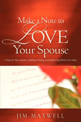 Make a Note to Love Your Spouse book
