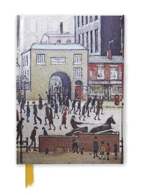 L. S. Lowry: Coming from the Mill (Foiled Journal) by Flame Tree