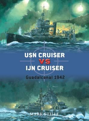 USN Cruiser Vs IJN Cruiser by Mark Stille