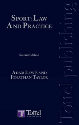 Sport: Law and Practice book