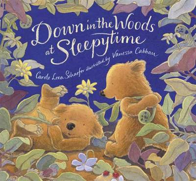 Down In The Woods At Sleepytime Board Bo by Schaefer Carole Lexa