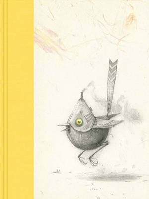 Luxury Blank Journal 5: Bee Eater Firm Sale (yellow) by Shaun Tan