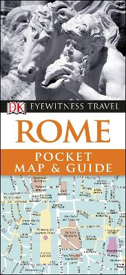 Rome Pocket Map and Guide by DK Travel