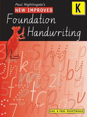 New Improved Foundation Handwriting NSW Kinder book