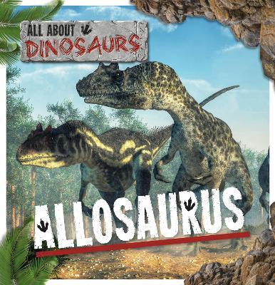 Allosaurus by Mignonne Gunasekara