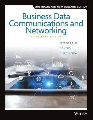 Business Data Communications and Networking by Jerry FitzGerald