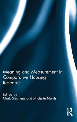 Meaning and Measurement in Comparative Housing Research book