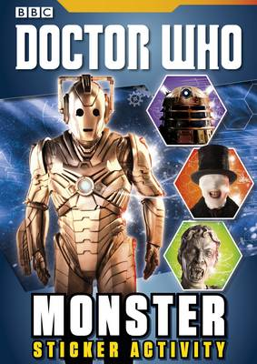 Doctor Who: Monster Sticker Activity Book book
