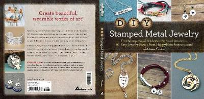 DIY Stamped Metal Jewelry by Adrianne Surian