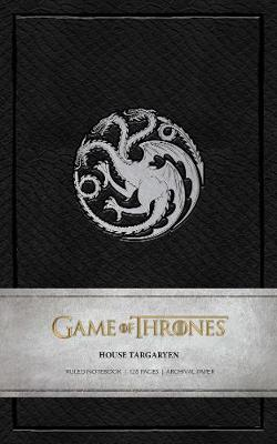 Game of Thrones: House Targaryen Ruled Notebook by Insight Editions