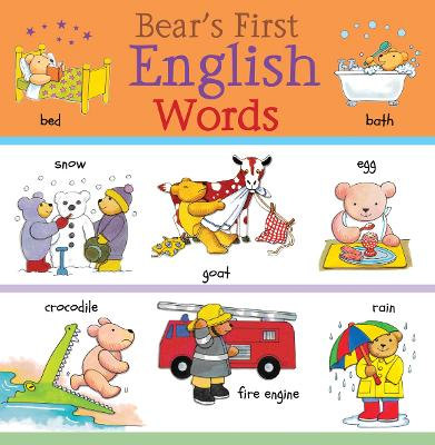 Bear's First English Words by Catherine Bruzzone
